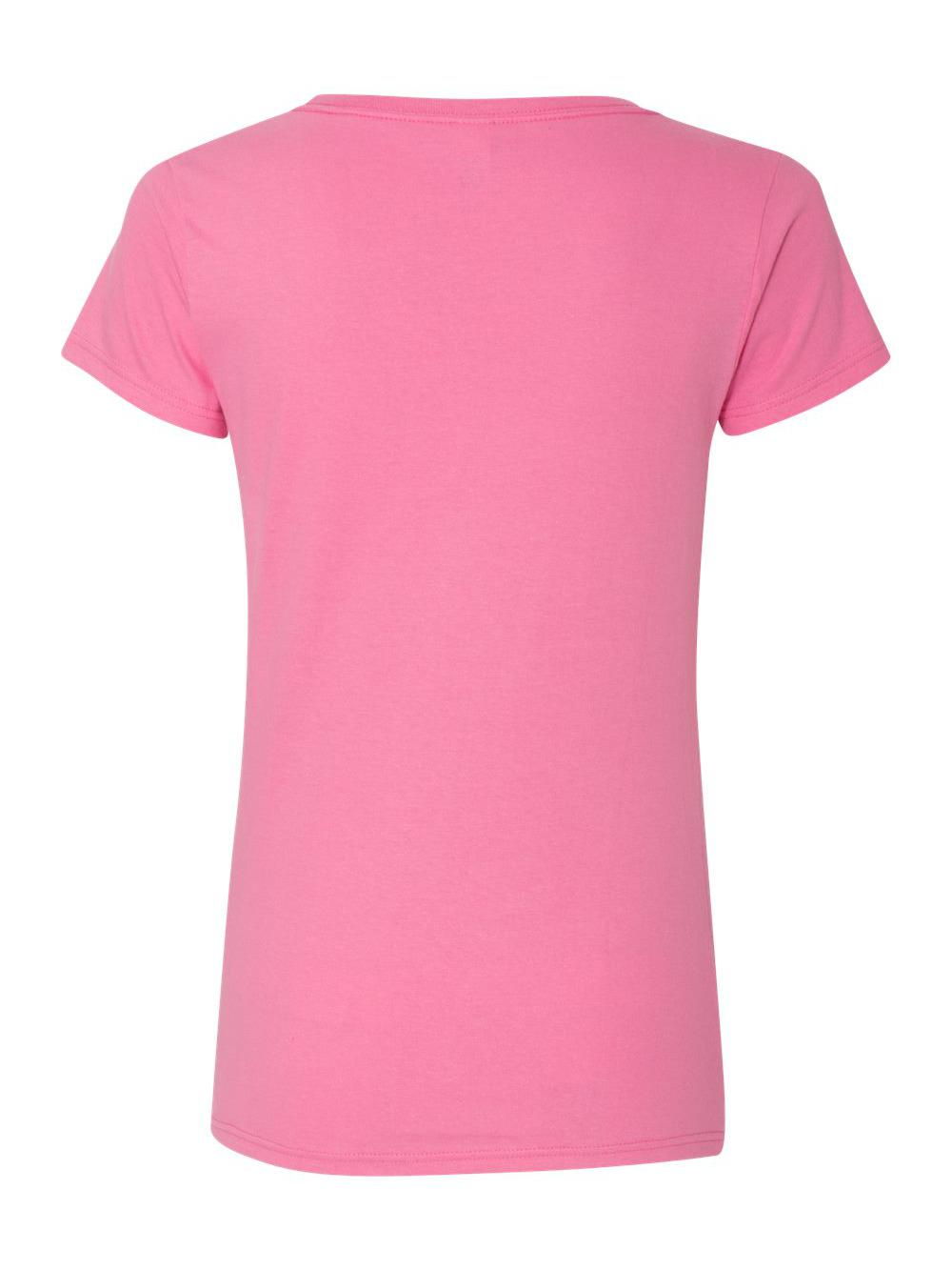 Gildan-Softstyle-Women-039-s-Deep-Scoopneck-T-Shirt-64550L thumbnail 4