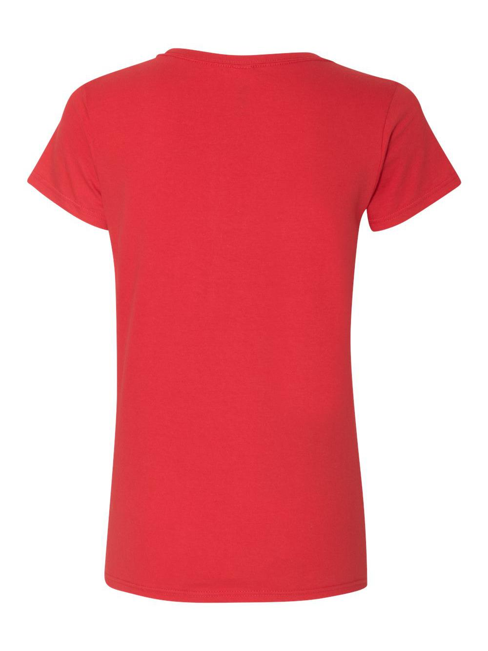 Gildan-Softstyle-Women-039-s-Deep-Scoopneck-T-Shirt-64550L thumbnail 40
