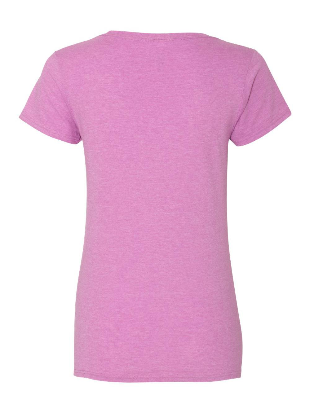 Gildan-Softstyle-Women-039-s-Deep-Scoopneck-T-Shirt-64550L thumbnail 28