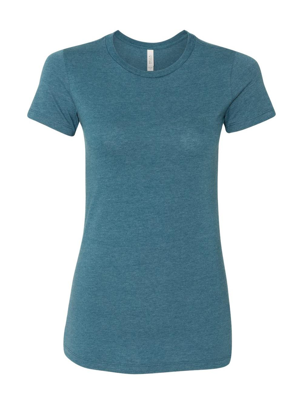 Bella-Canvas-Women-039-s-The-Favorite-Tee-6004 thumbnail 51