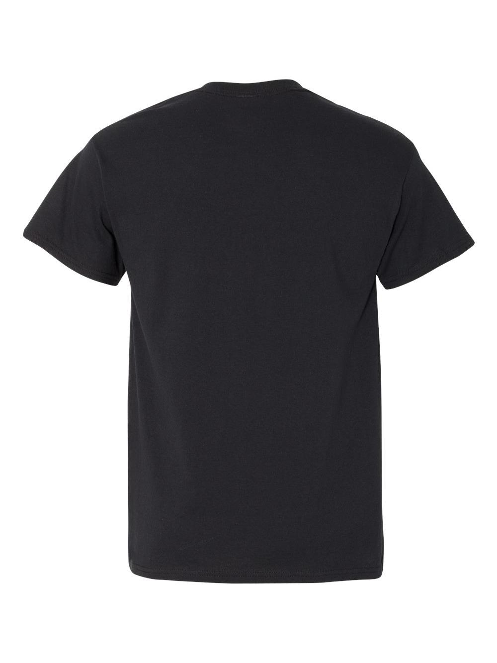 Gildan-Heavy-Cotton-T-Shirt-with-a-Pocket-5300 thumbnail 4