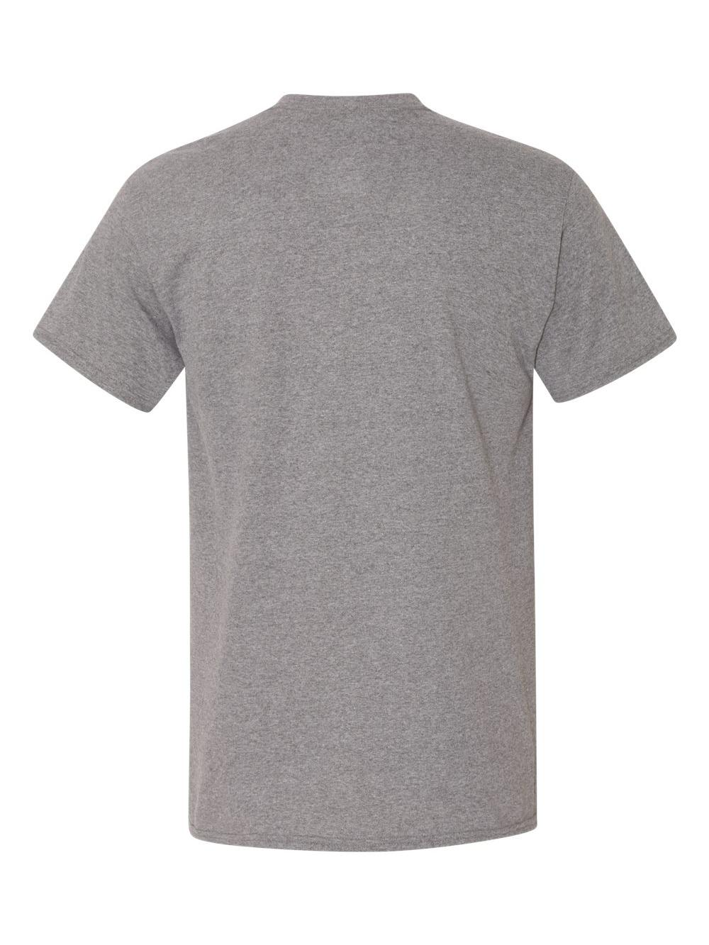 Gildan-Heavy-Cotton-T-Shirt-with-a-Pocket-5300 thumbnail 10