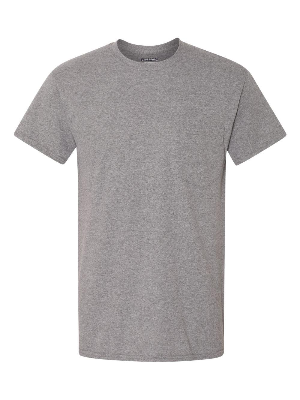 Gildan-Heavy-Cotton-T-Shirt-with-a-Pocket-5300 thumbnail 9