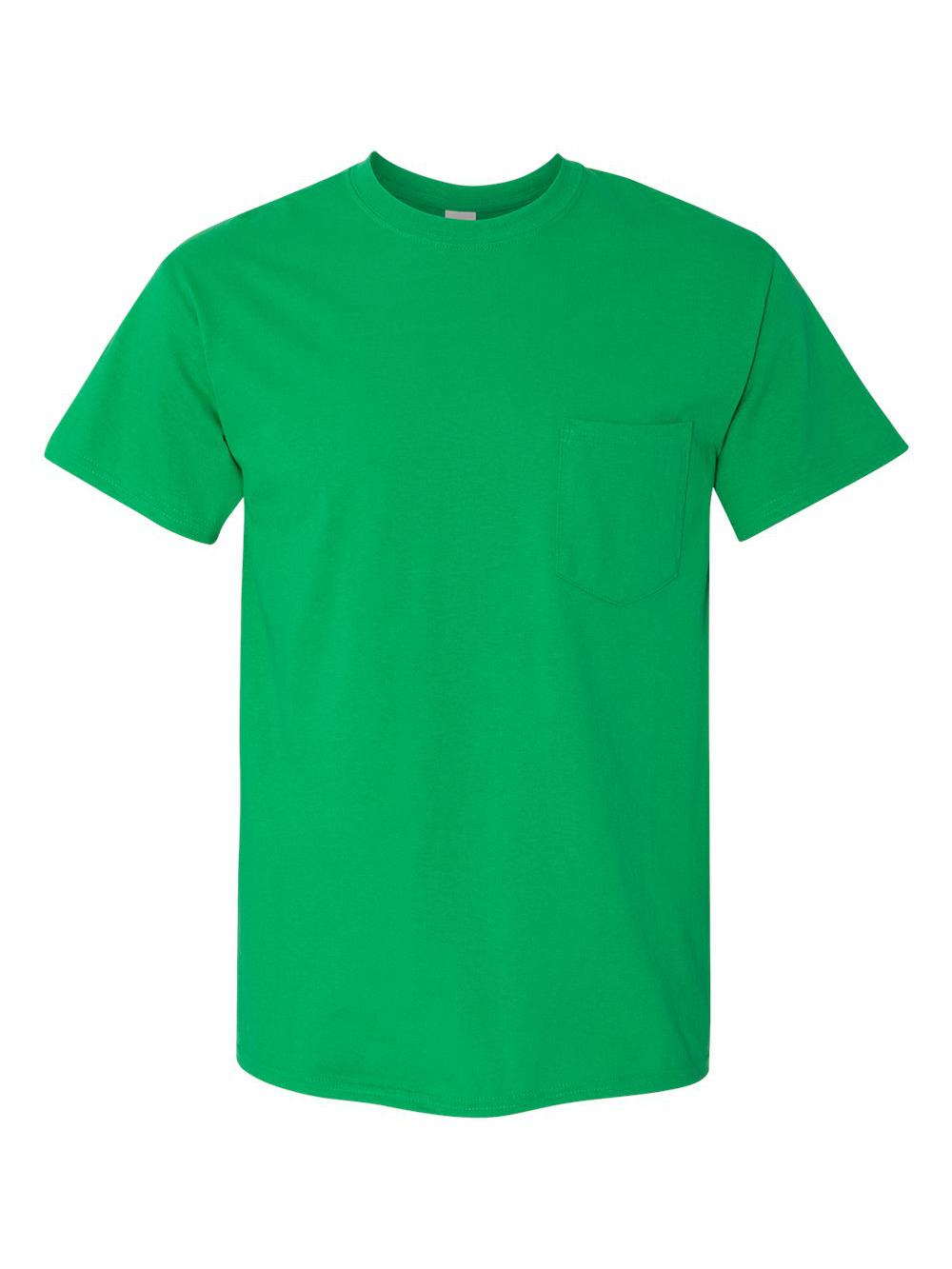 Gildan-Heavy-Cotton-T-Shirt-with-a-Pocket-5300 thumbnail 15