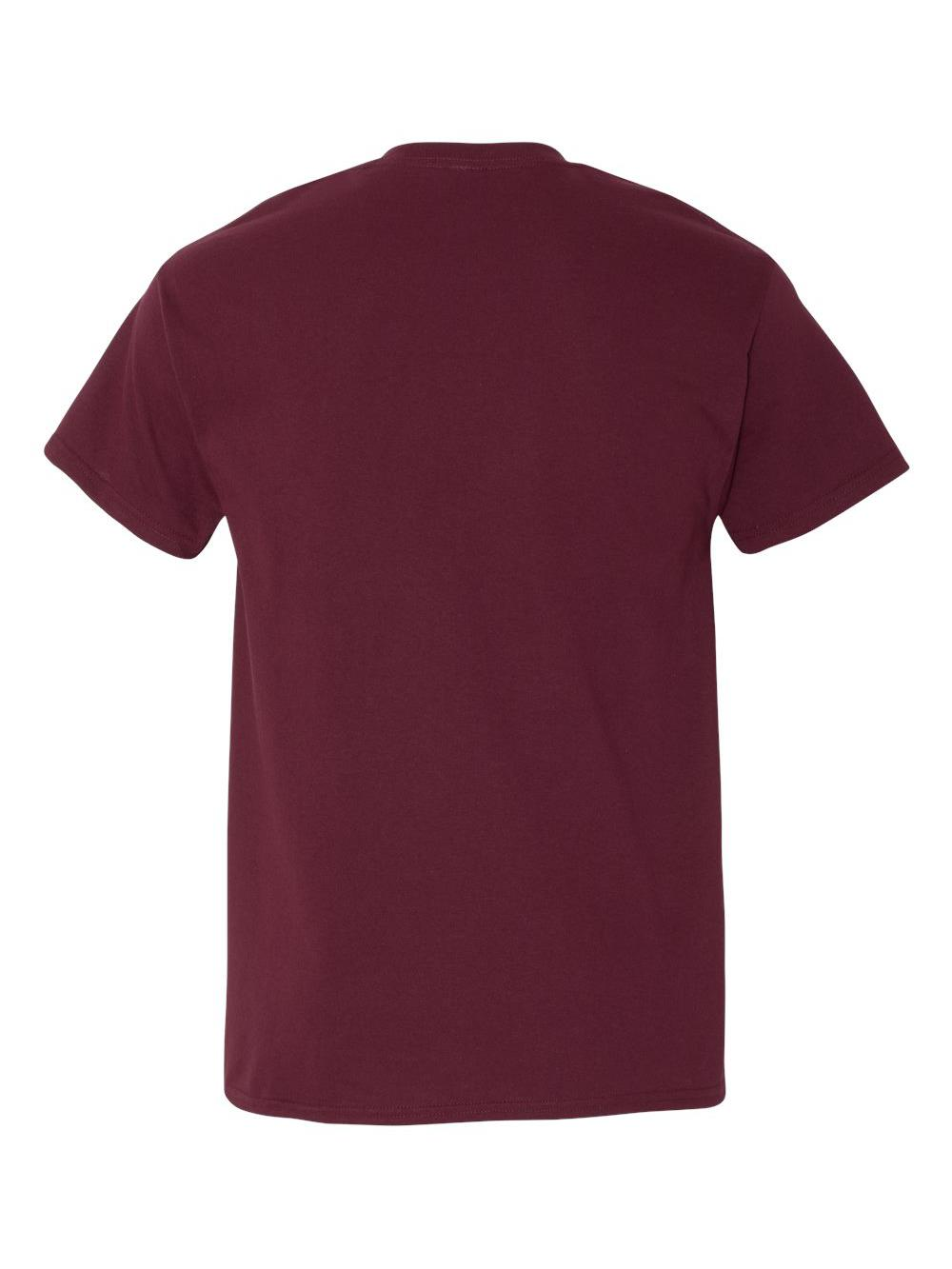 Gildan-Heavy-Cotton-T-Shirt-with-a-Pocket-5300 thumbnail 19