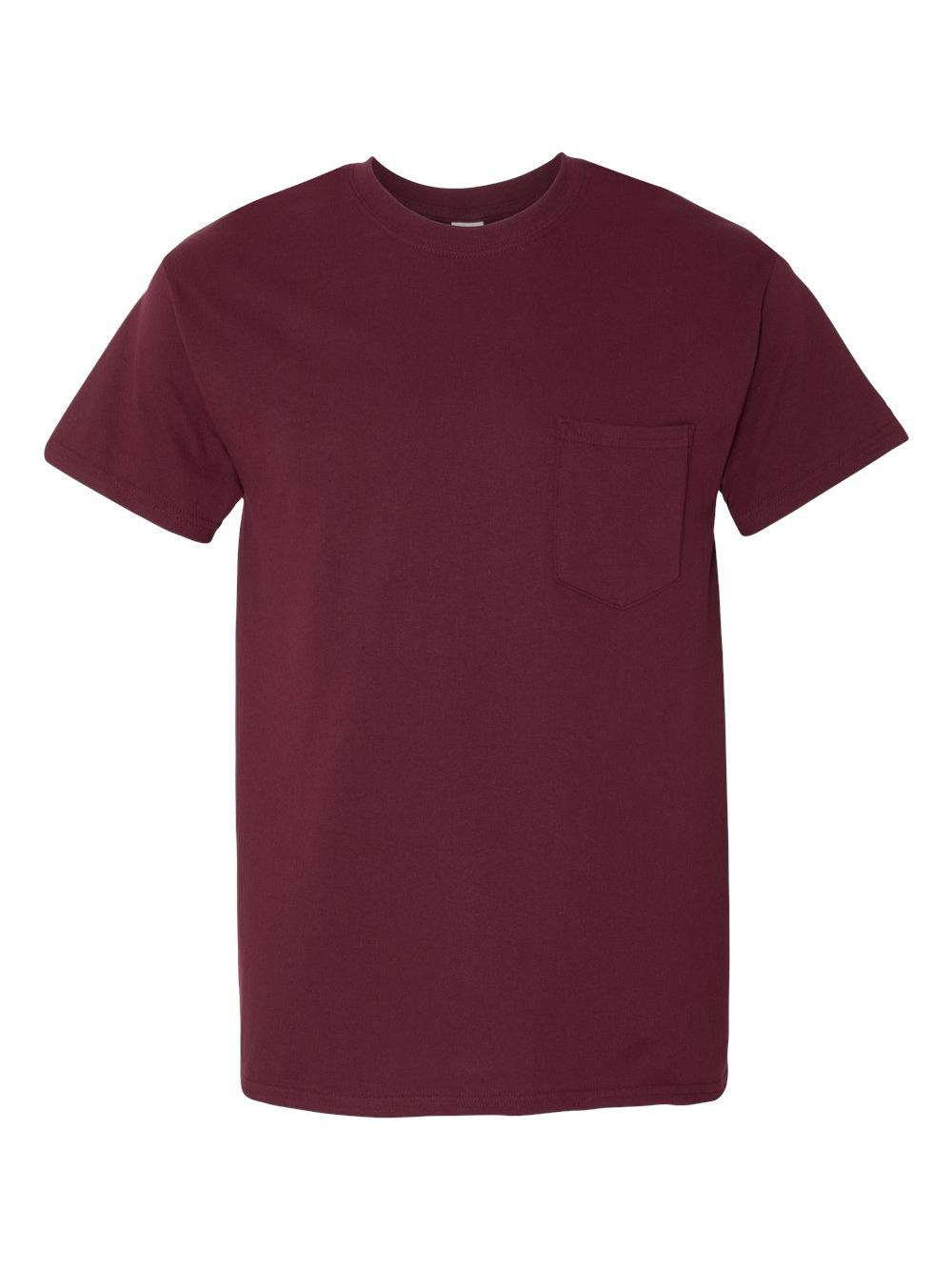 Gildan-Heavy-Cotton-T-Shirt-with-a-Pocket-5300 thumbnail 18