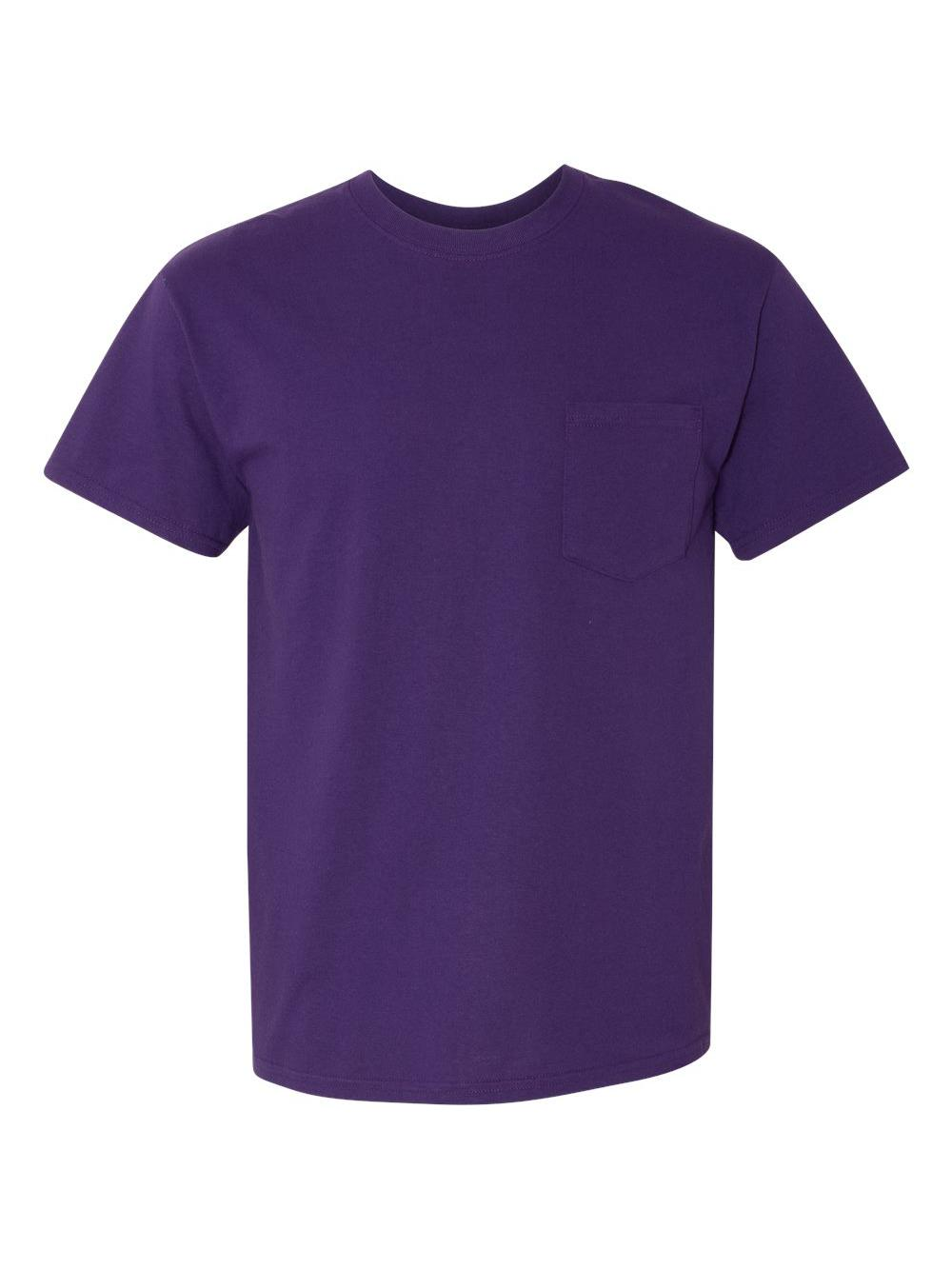 Gildan-Heavy-Cotton-T-Shirt-with-a-Pocket-5300 thumbnail 27