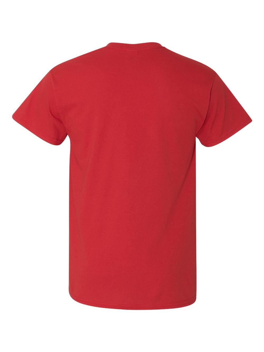 Gildan-Heavy-Cotton-T-Shirt-with-a-Pocket-5300 thumbnail 31
