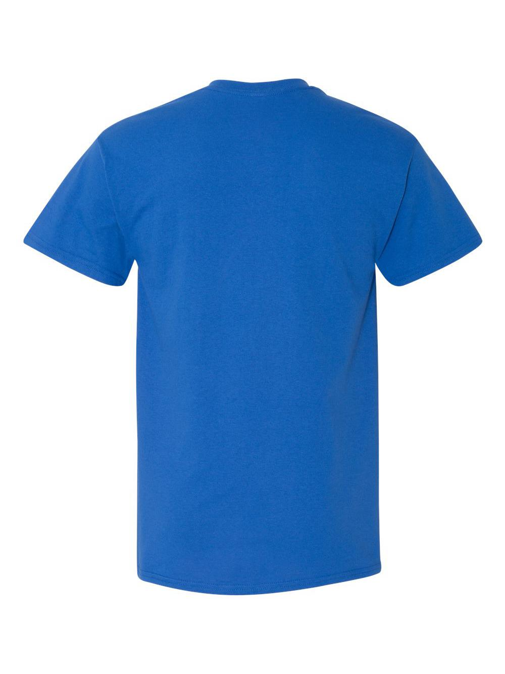 Gildan-Heavy-Cotton-T-Shirt-with-a-Pocket-5300 thumbnail 34