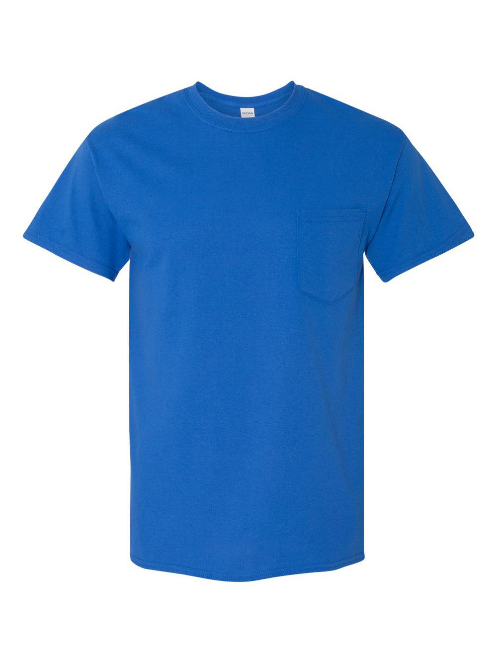 Gildan-Heavy-Cotton-T-Shirt-with-a-Pocket-5300 thumbnail 33