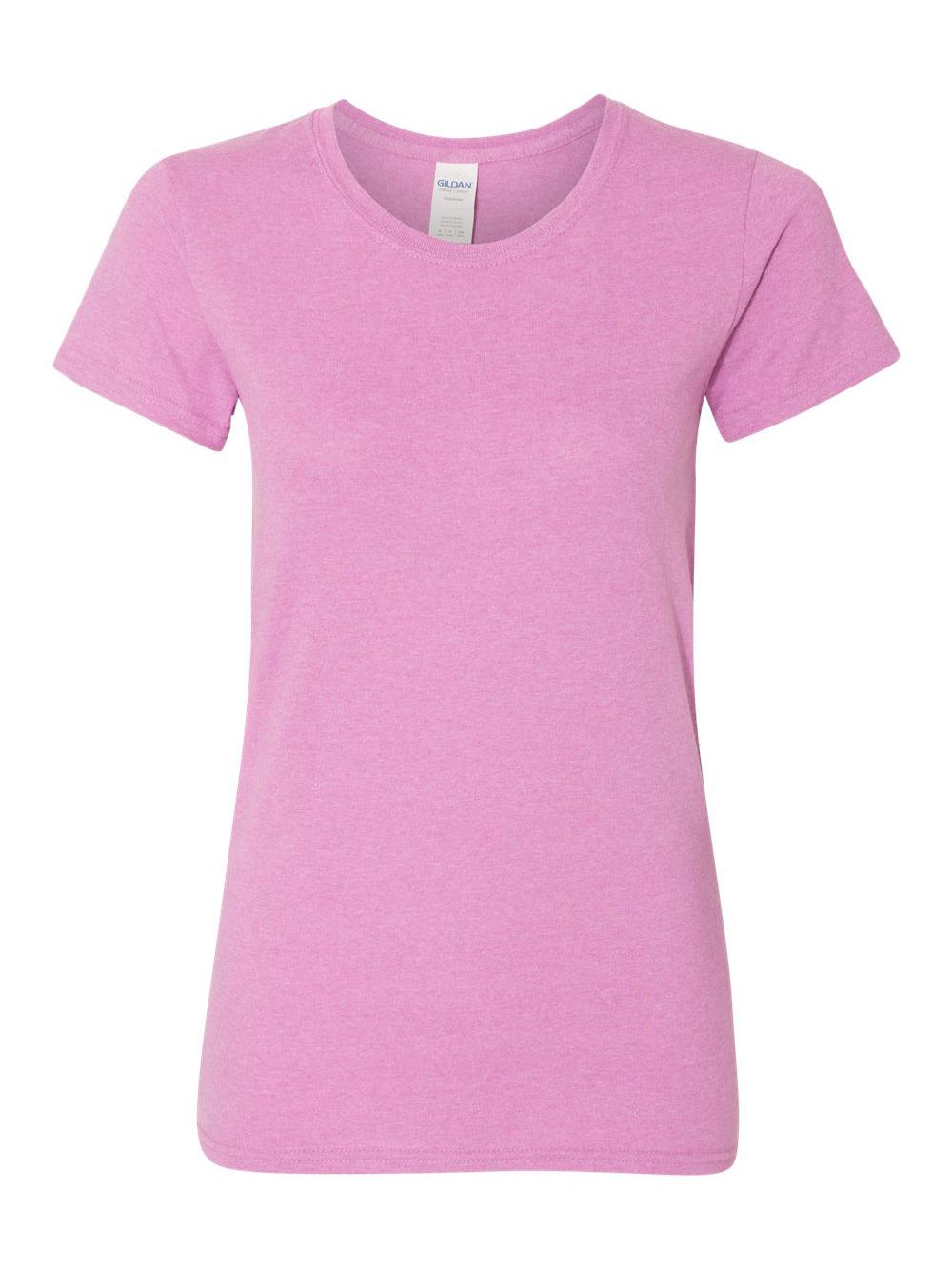 Gildan-Heavy-Cotton-Women-039-s-Short-Sleeve-T-Shirt-5000L thumbnail 48