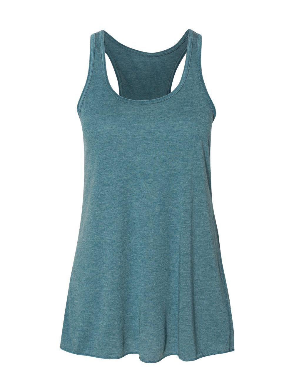 Bella-Canvas-Women-039-s-Flowy-Racerback-Tank-8800 thumbnail 42