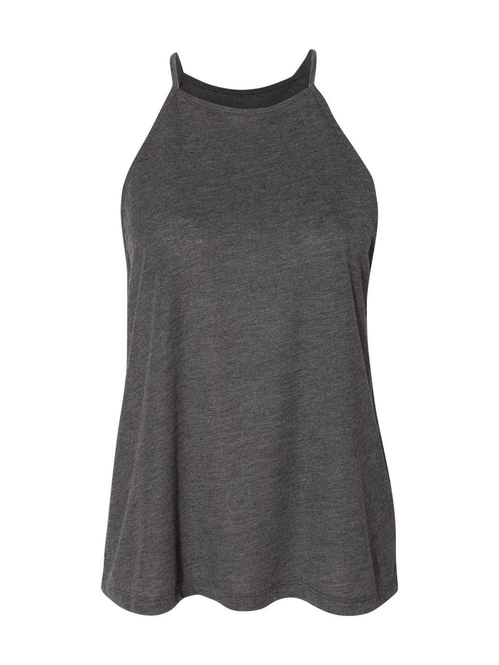 Bella-Canvas-Women-039-s-Flowy-High-Neck-Tank-8809 thumbnail 6