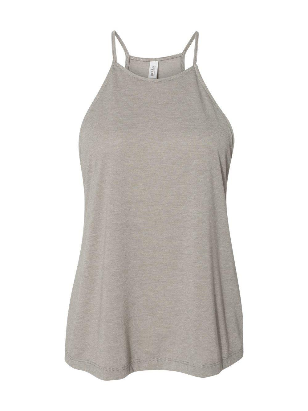 Bella-Canvas-Women-039-s-Flowy-High-Neck-Tank-8809 thumbnail 9