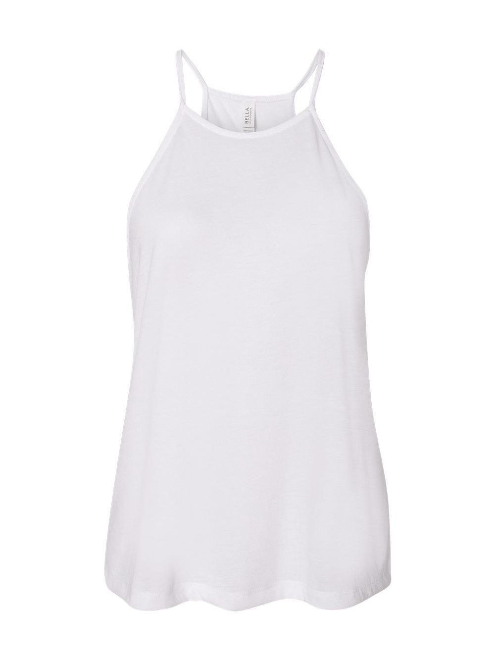 Bella-Canvas-Women-039-s-Flowy-High-Neck-Tank-8809 thumbnail 18