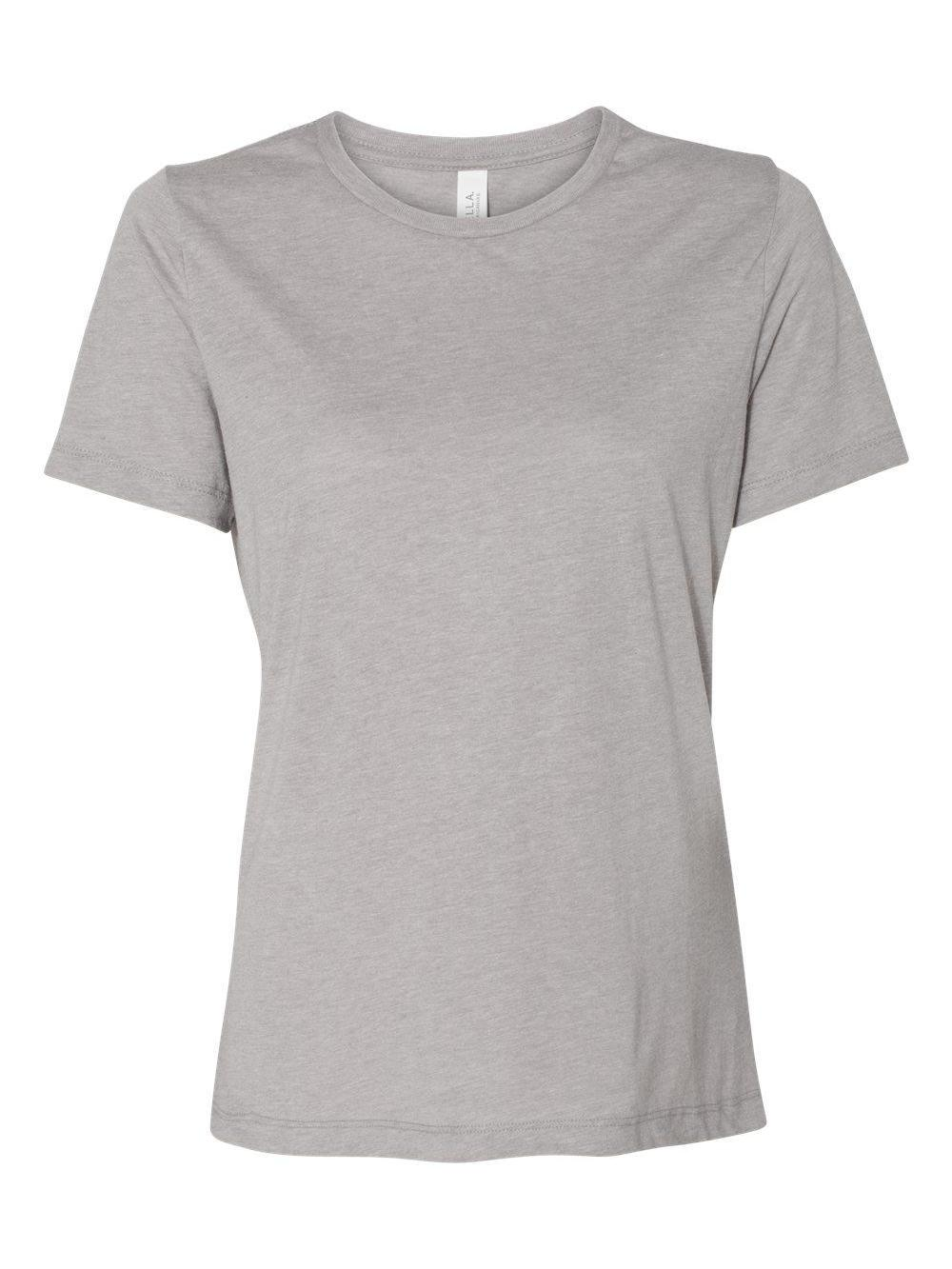 Bella-Canvas-Women-039-s-Relaxed-Short-Sleeve-Jersey-Tee-6400 thumbnail 3