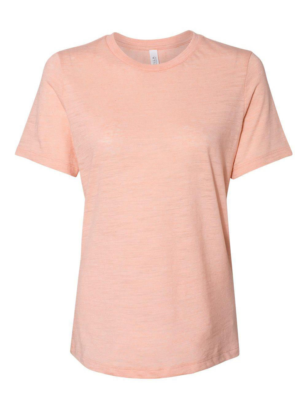 Bella-Canvas-Women-039-s-Relaxed-Short-Sleeve-Jersey-Tee-6400 thumbnail 66