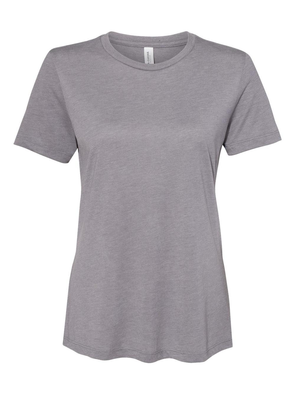 Bella-Canvas-Women-039-s-Relaxed-Short-Sleeve-Jersey-Tee-6400 thumbnail 81
