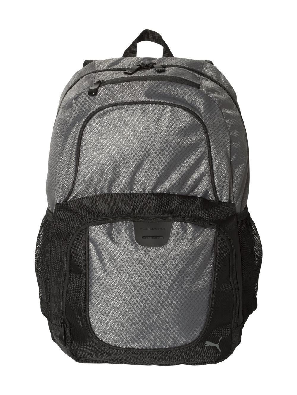 a571774a09e PUMA 25l Backpack - PSC1028 Dark Grey black   eBay