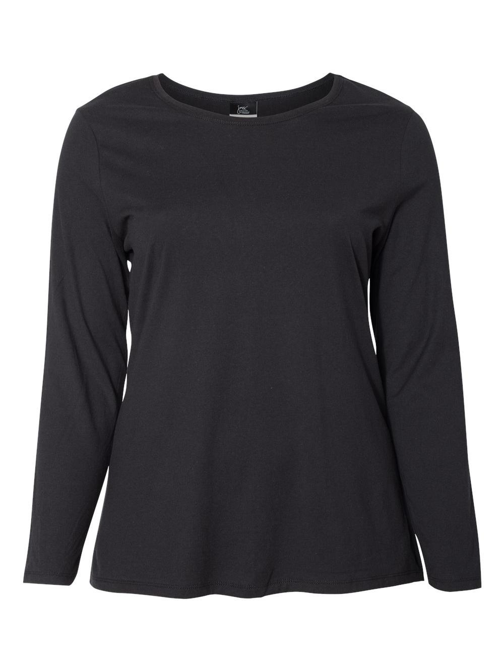 Just-My-Size-Women-039-s-Long-Sleeve-T-Shirt-JMS40 thumbnail 3