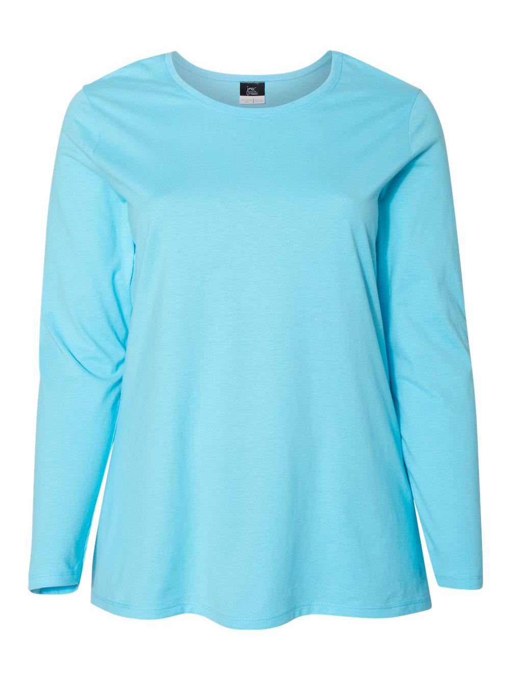 Just-My-Size-Women-039-s-Long-Sleeve-T-Shirt-JMS40 thumbnail 6