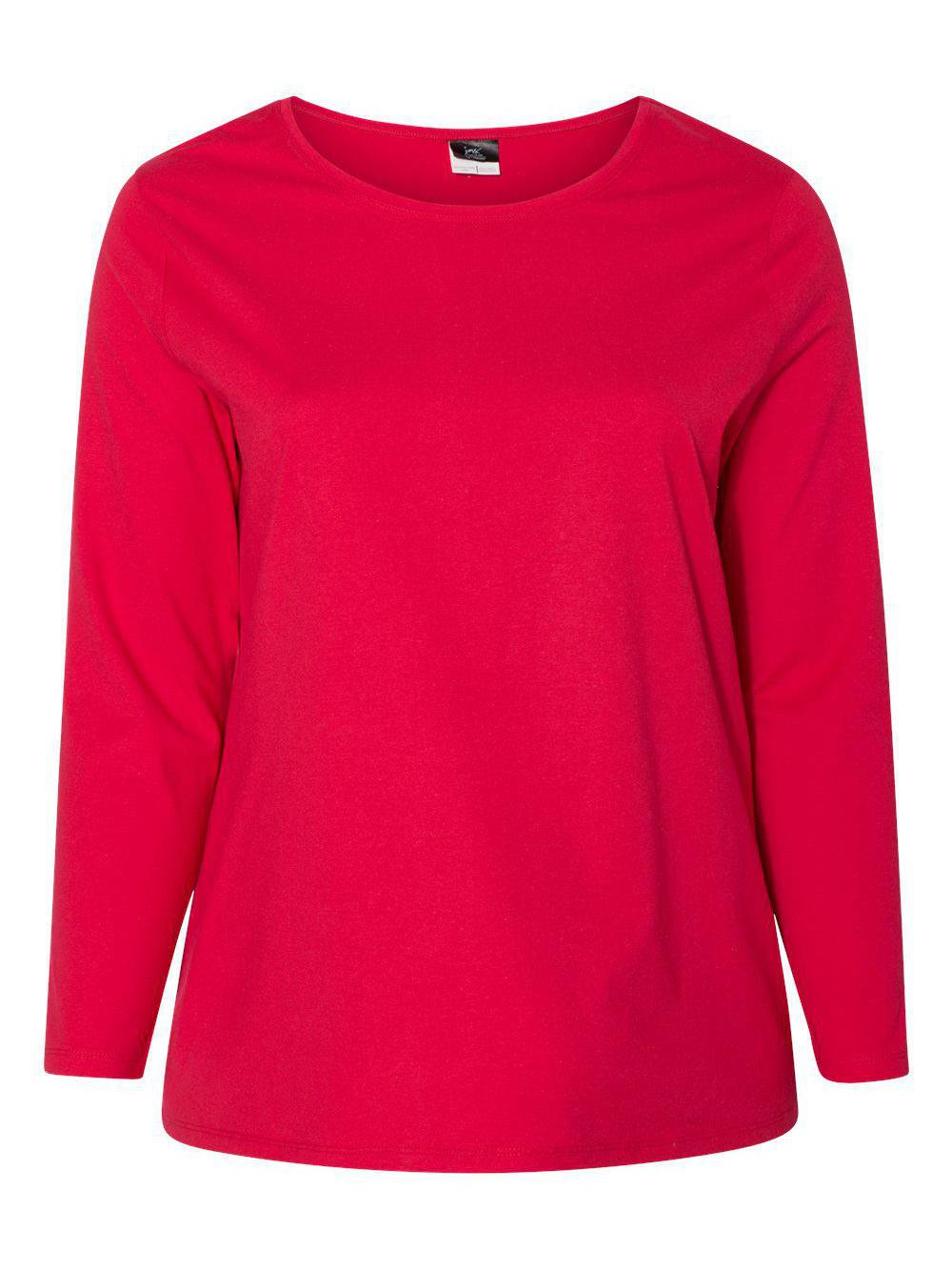 Just-My-Size-Women-039-s-Long-Sleeve-T-Shirt-JMS40 thumbnail 9