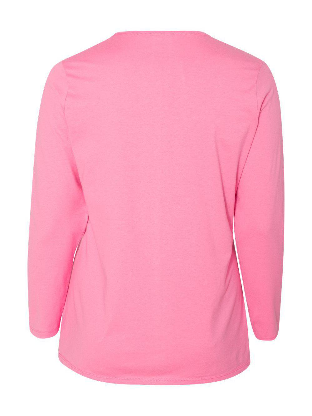 Just-My-Size-Women-039-s-Long-Sleeve-T-Shirt-JMS40 thumbnail 16