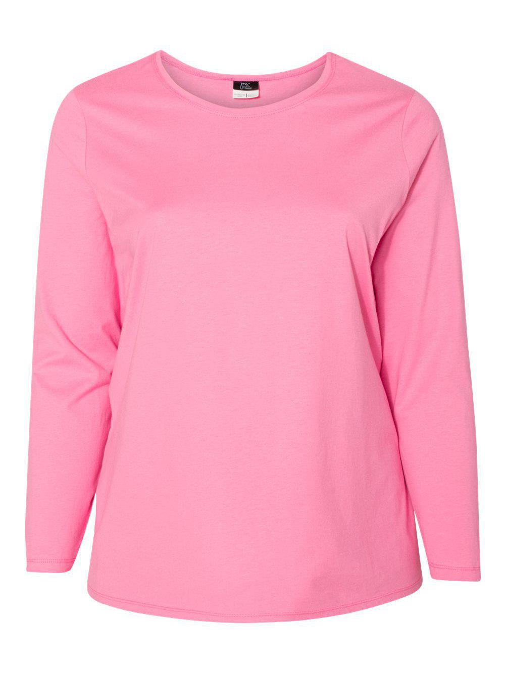 Just-My-Size-Women-039-s-Long-Sleeve-T-Shirt-JMS40 thumbnail 15