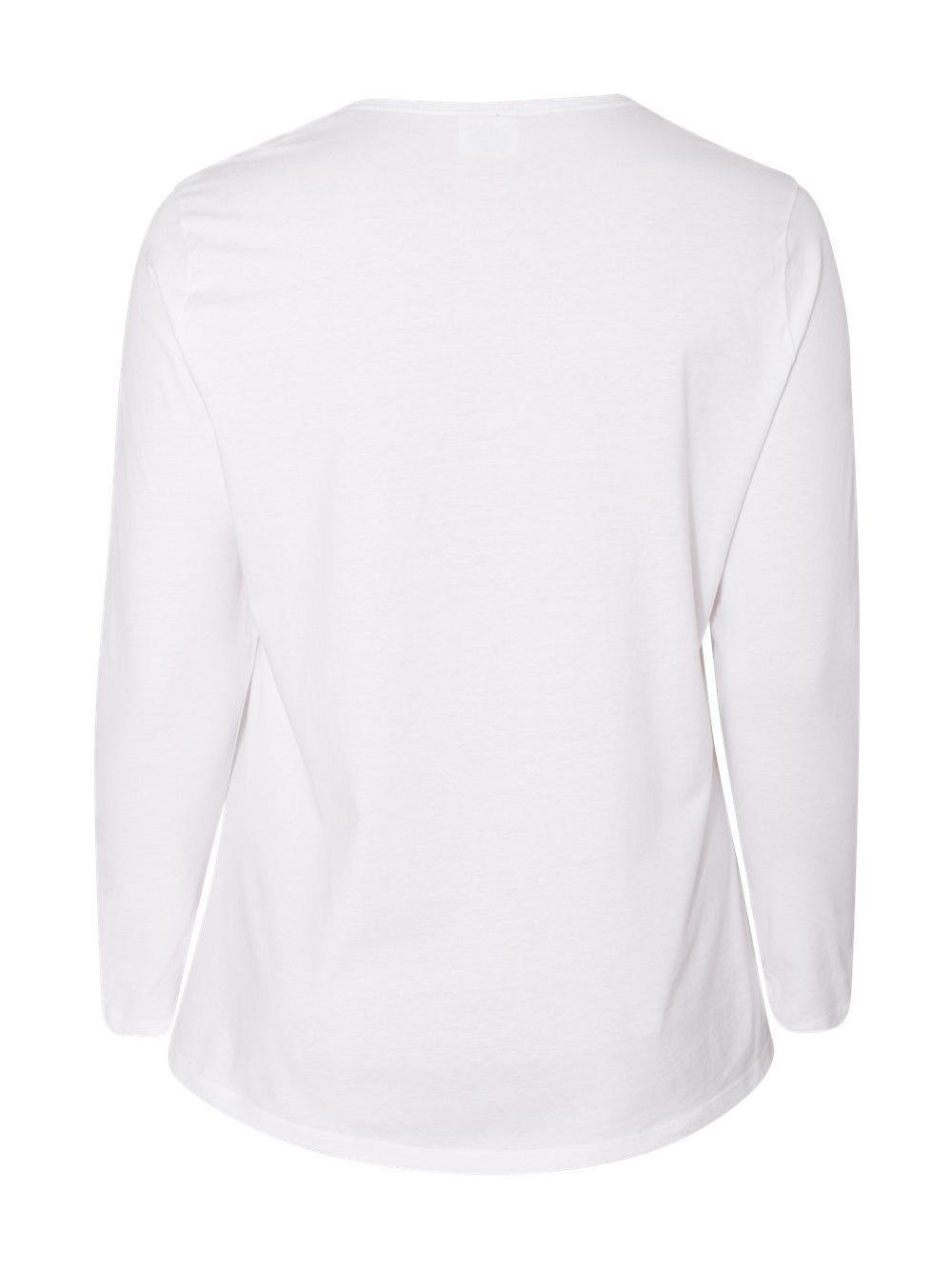Just-My-Size-Women-039-s-Long-Sleeve-T-Shirt-JMS40 thumbnail 19