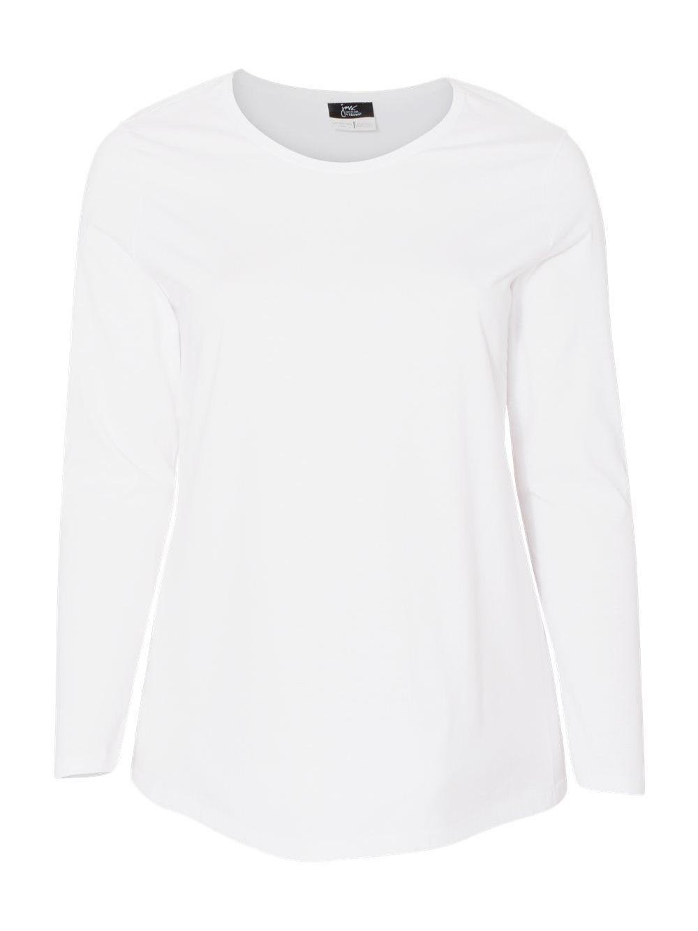 Just-My-Size-Women-039-s-Long-Sleeve-T-Shirt-JMS40 thumbnail 18