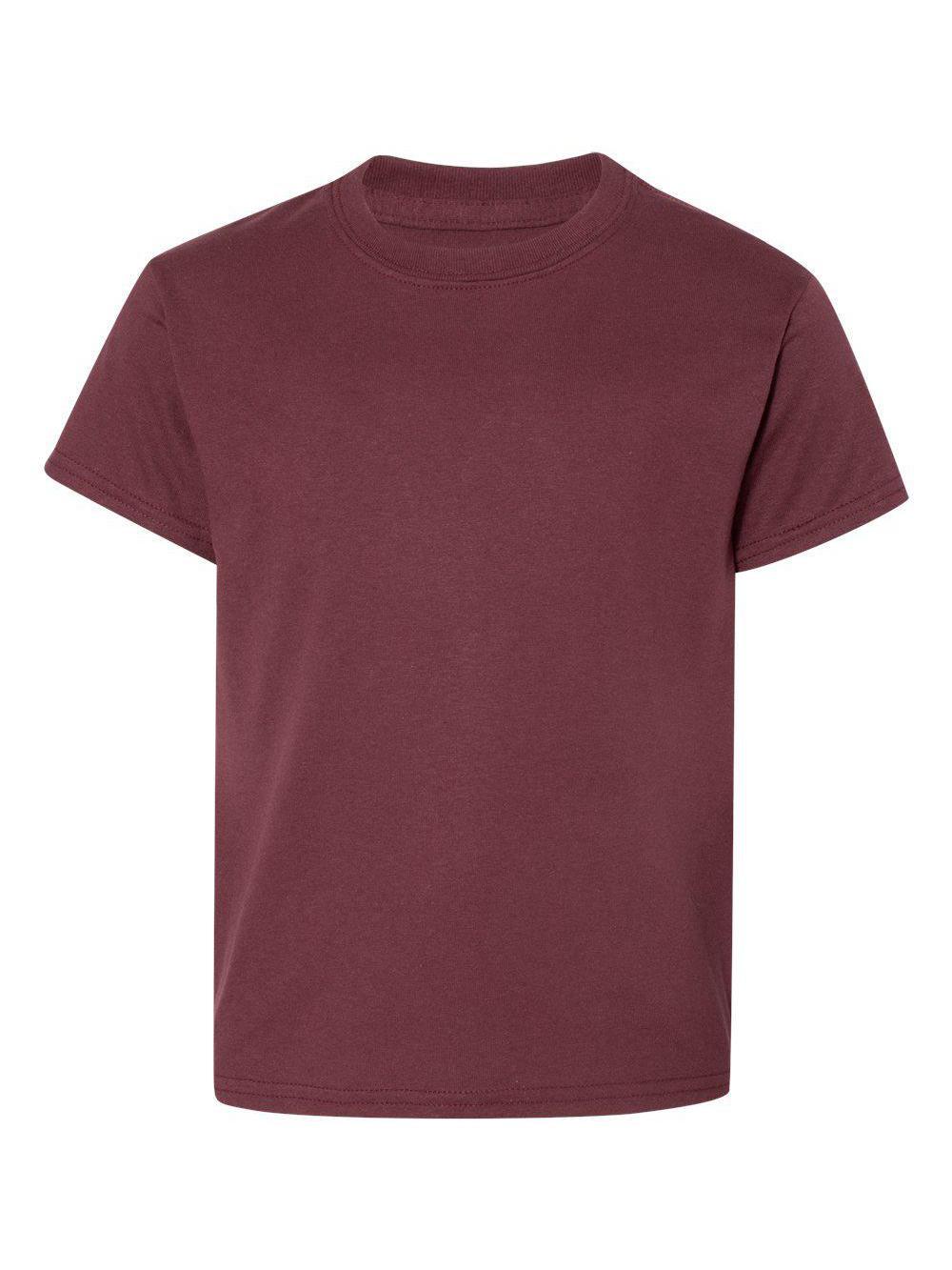 Gildan-DryBlend-Youth-50-50-T-Shirt-8000B thumbnail 93