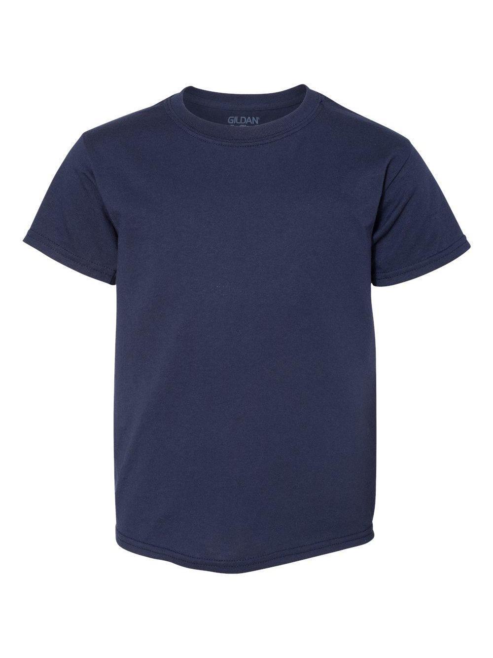 Gildan-DryBlend-Youth-50-50-T-Shirt-8000B thumbnail 96