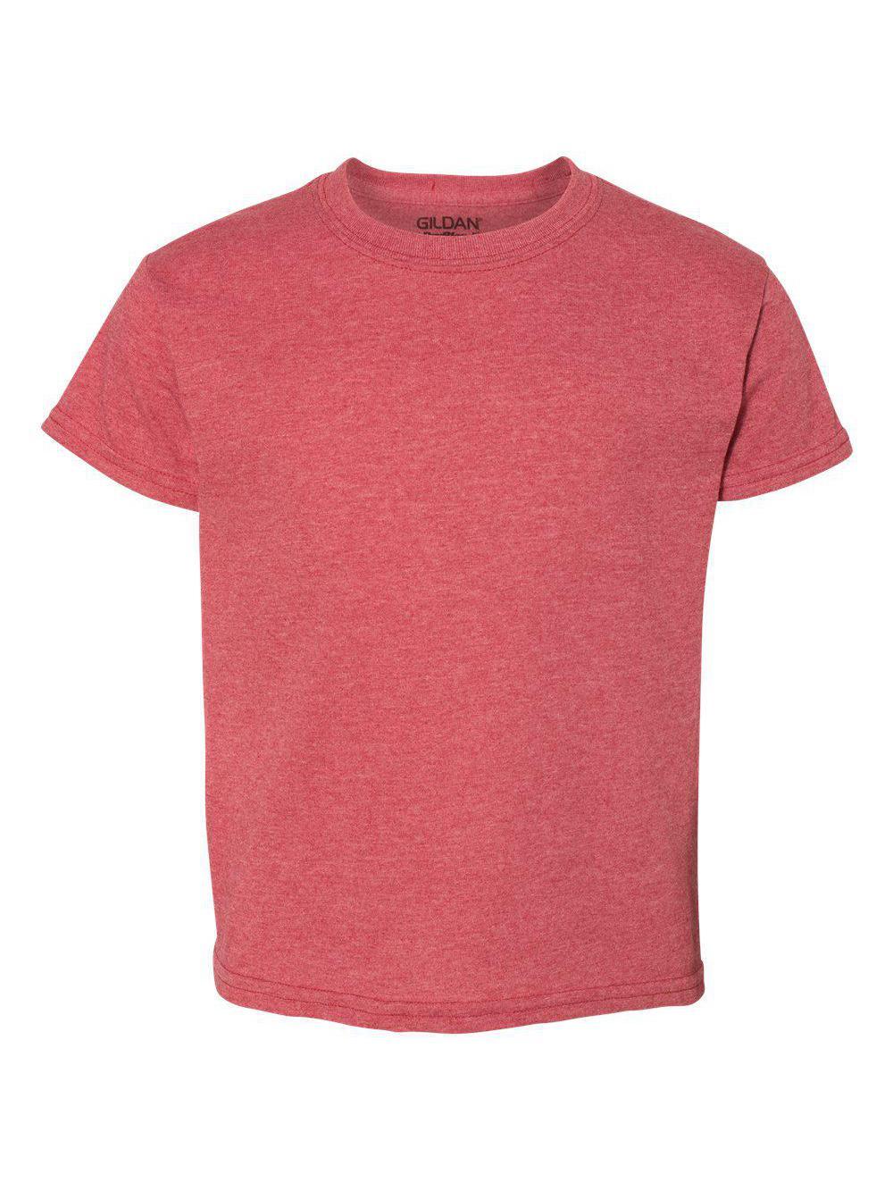 Gildan-DryBlend-Youth-50-50-T-Shirt-8000B thumbnail 42