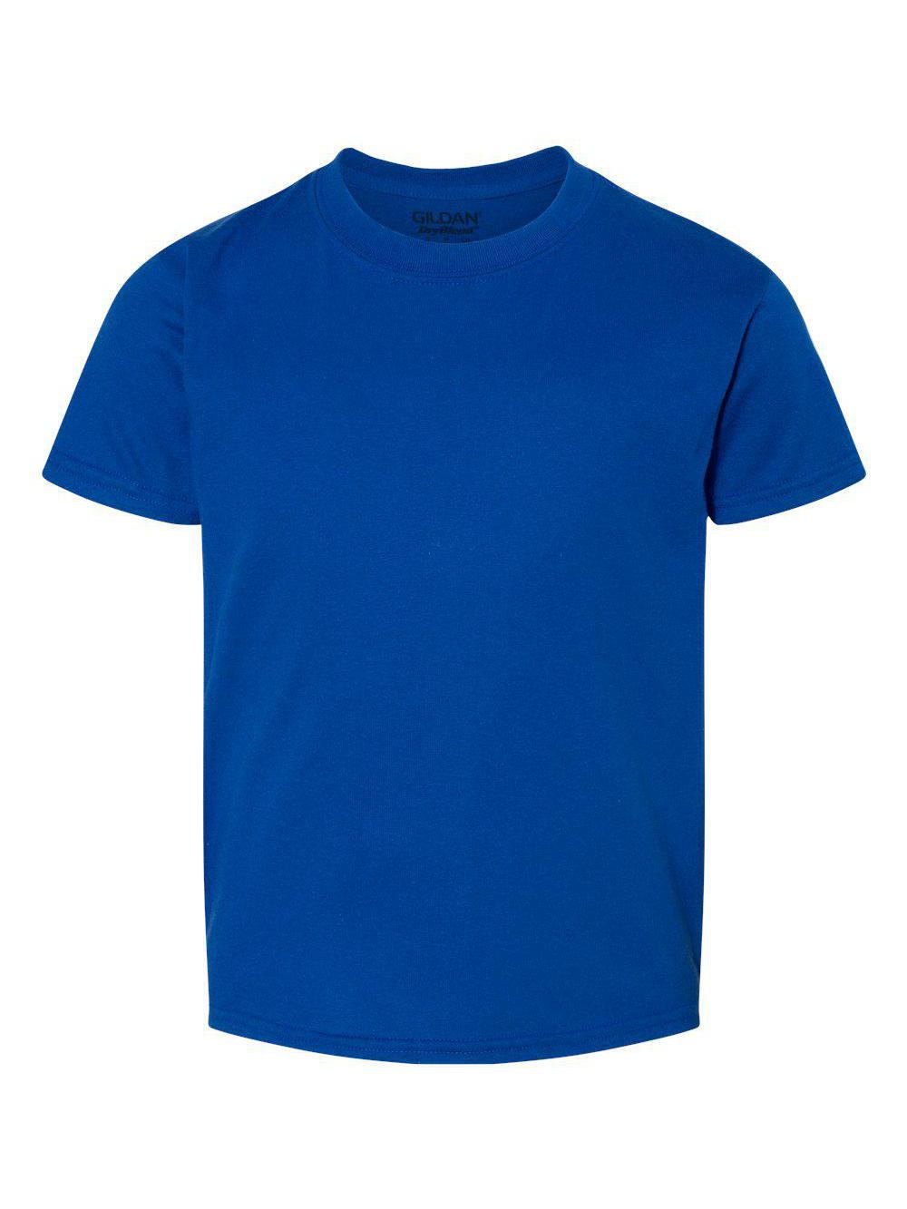 Gildan-DryBlend-Youth-50-50-T-Shirt-8000B thumbnail 102