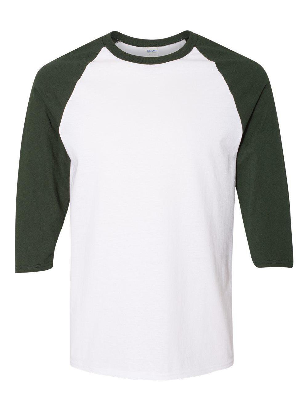 Gildan-Heavy-Cotton-Three-Quarter-Raglan-Sleeve-Baseball-T-Shirt-5700 thumbnail 24