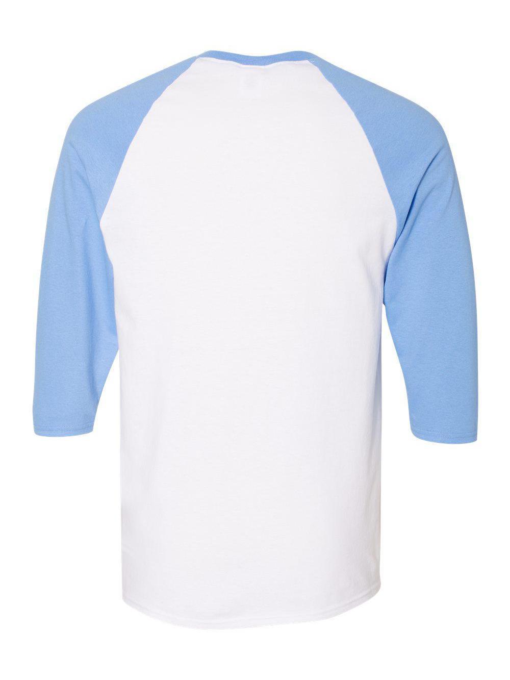 Gildan-Heavy-Cotton-Three-Quarter-Raglan-Sleeve-Baseball-T-Shirt-5700 thumbnail 22