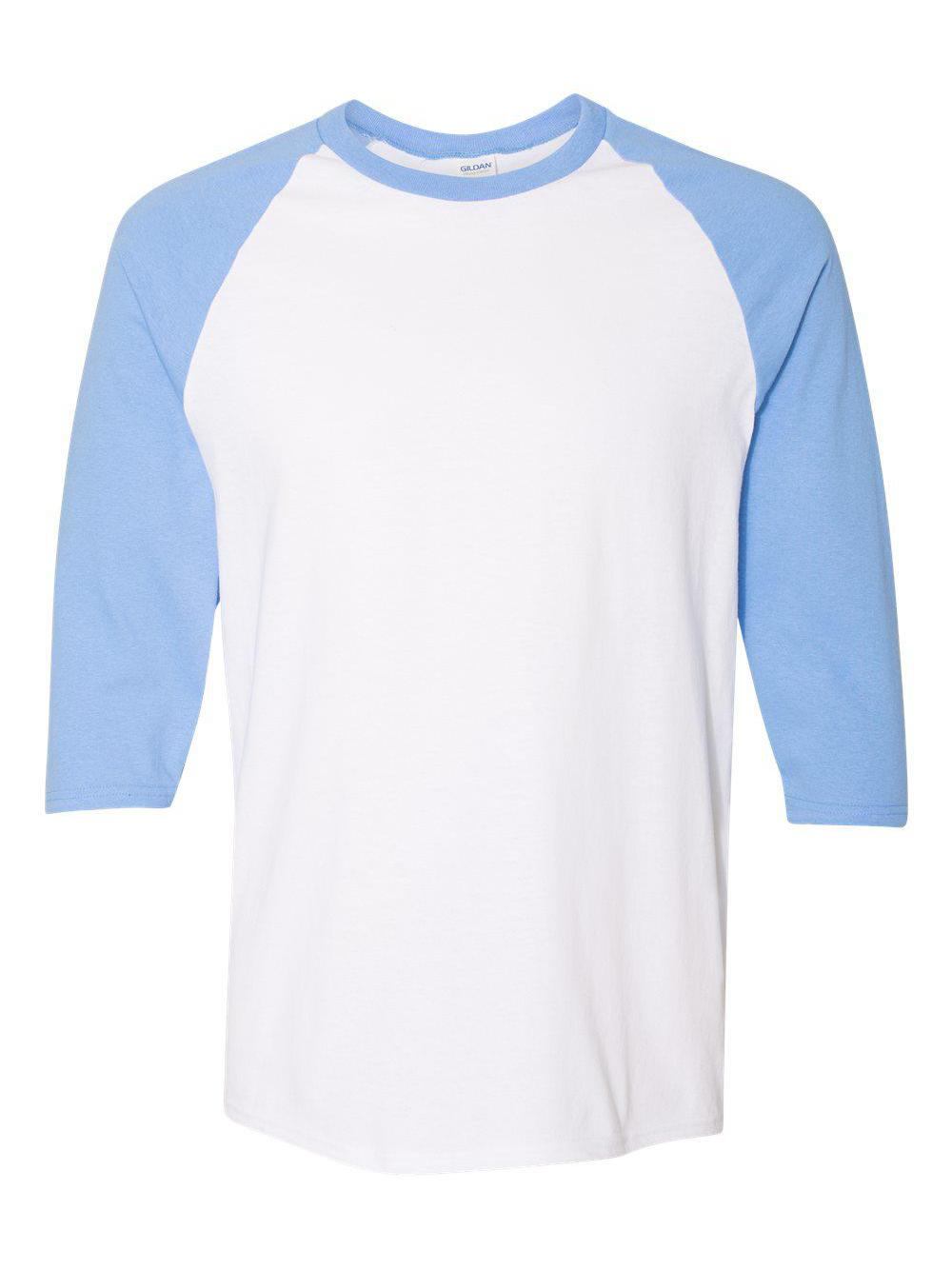 Gildan-Heavy-Cotton-Three-Quarter-Raglan-Sleeve-Baseball-T-Shirt-5700 thumbnail 21