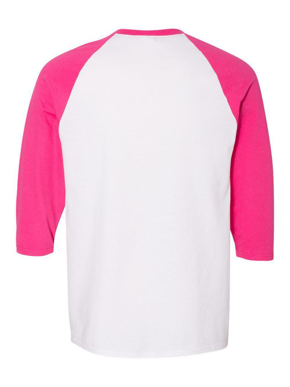 Gildan-Heavy-Cotton-Three-Quarter-Raglan-Sleeve-Baseball-T-Shirt-5700 thumbnail 28