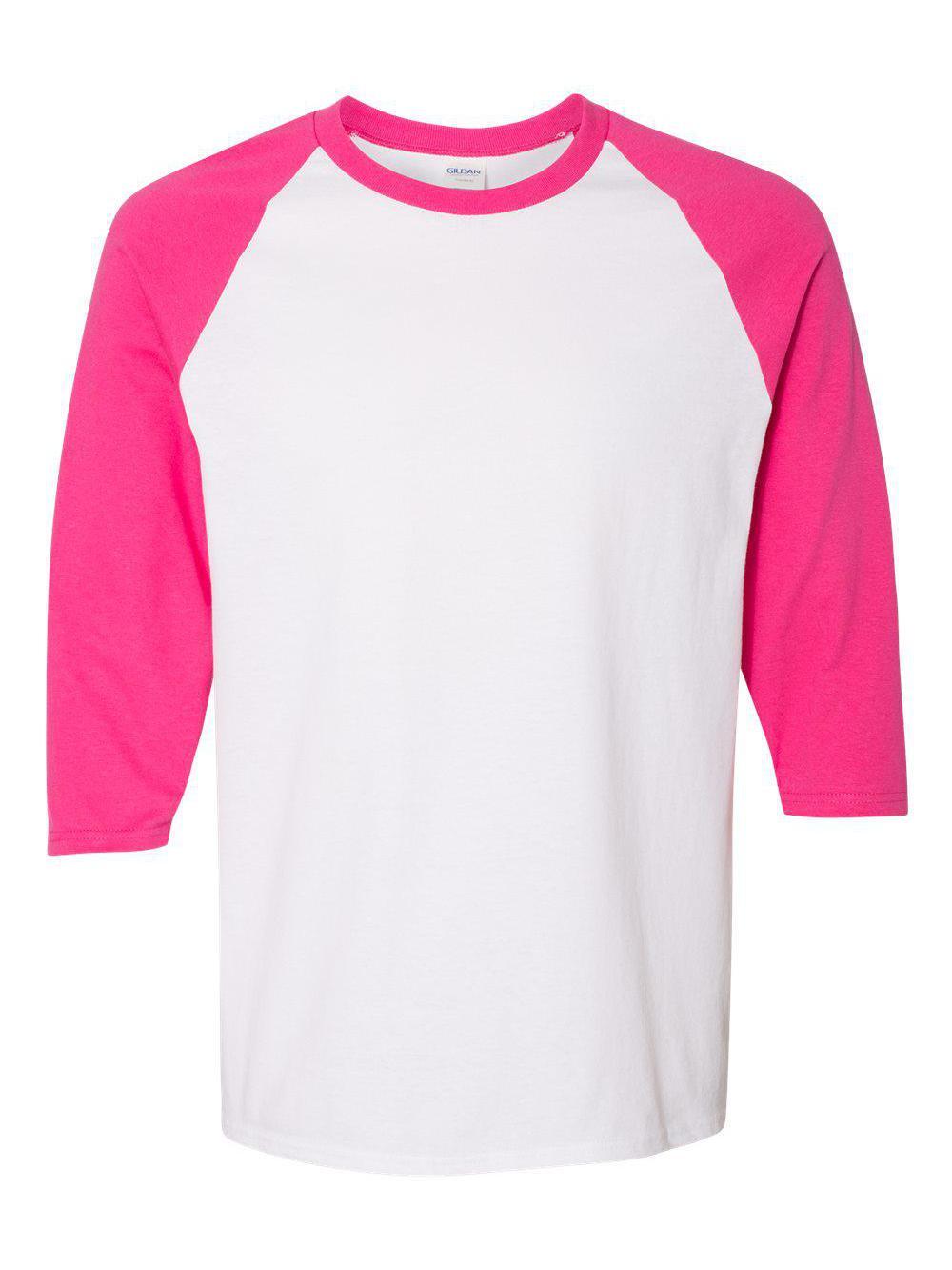 Gildan-Heavy-Cotton-Three-Quarter-Raglan-Sleeve-Baseball-T-Shirt-5700 thumbnail 27