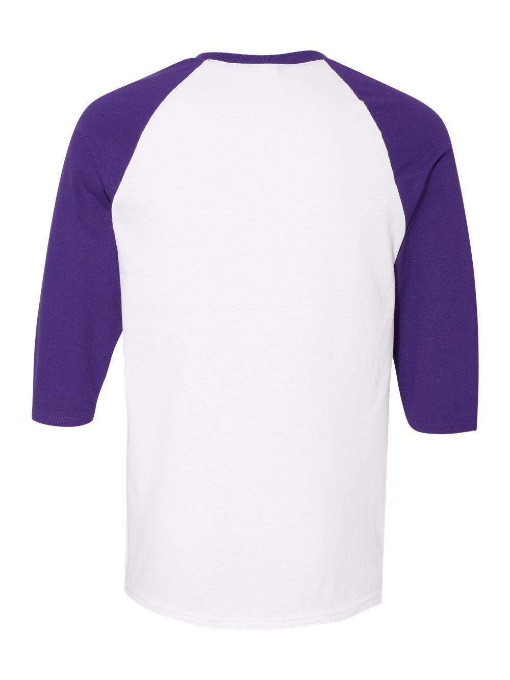 Gildan-Heavy-Cotton-Three-Quarter-Raglan-Sleeve-Baseball-T-Shirt-5700 thumbnail 37