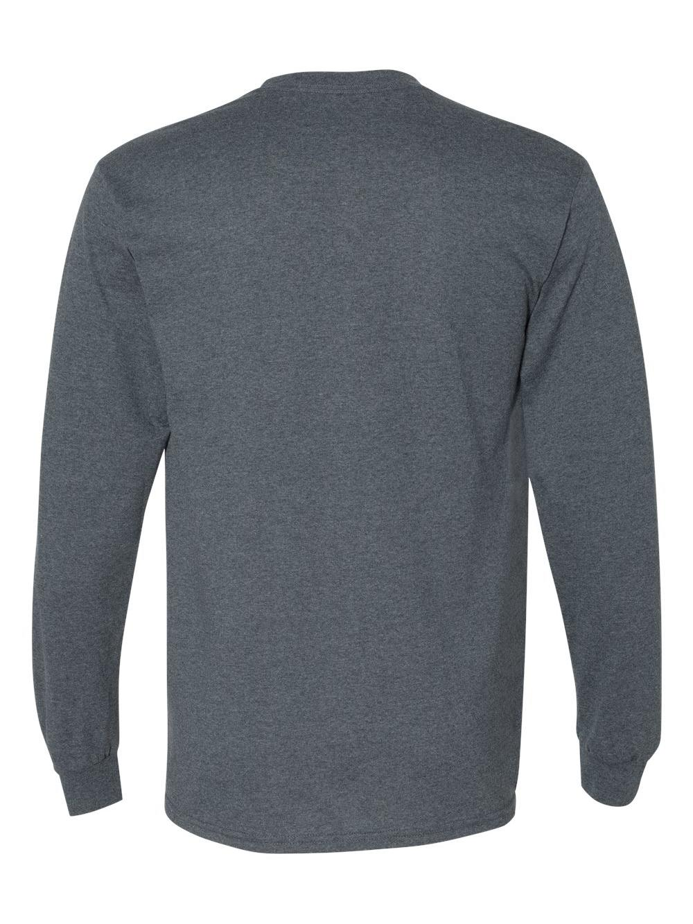 Gildan-DryBlend-50-50-Long-Sleeve-T-Shirt-8400 thumbnail 13