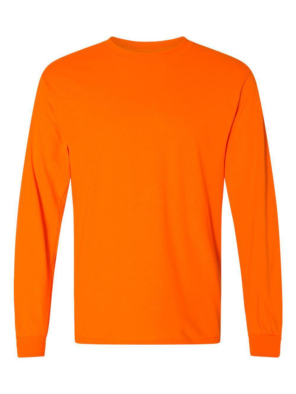 Gildan-DryBlend-50-50-Long-Sleeve-T-Shirt-8400 thumbnail 36