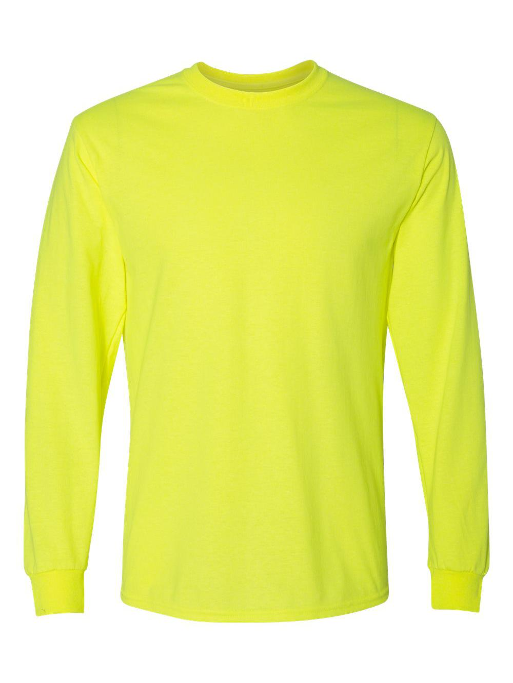 Gildan-DryBlend-50-50-Long-Sleeve-T-Shirt-8400 thumbnail 39