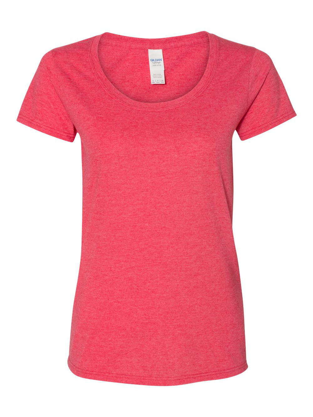 Gildan-Softstyle-Women-039-s-Deep-Scoopneck-T-Shirt-64550L thumbnail 30