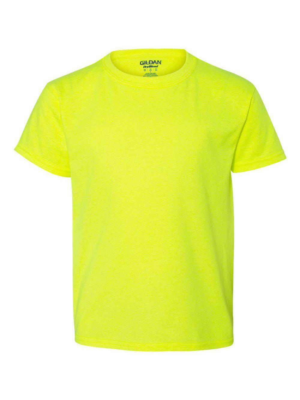Gildan-DryBlend-Youth-50-50-T-Shirt-8000B thumbnail 84