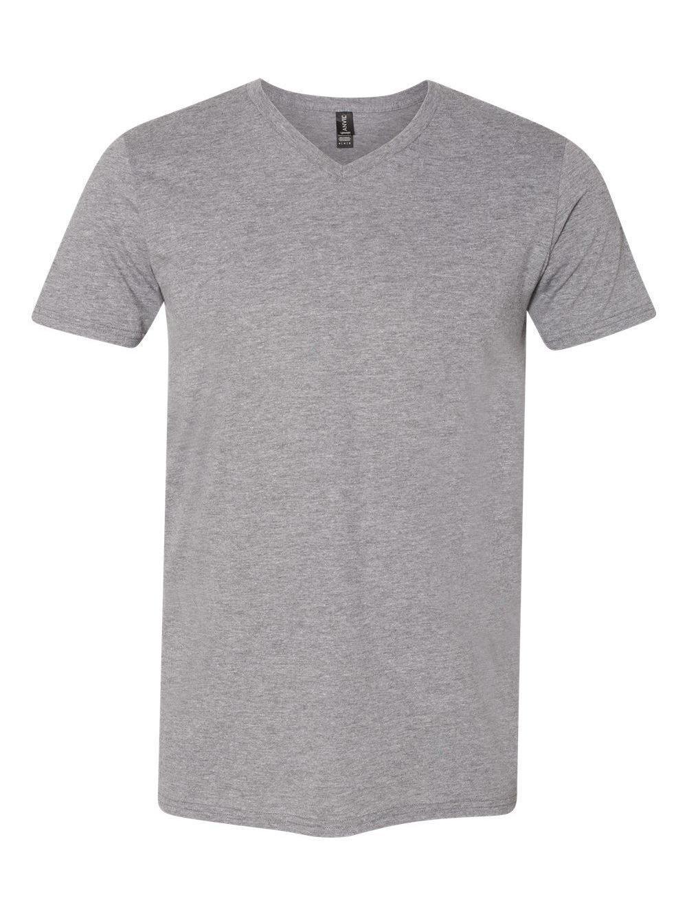 Anvil-Lightweight-Ringspun-V-Neck-T-Shirt-982 thumbnail 9