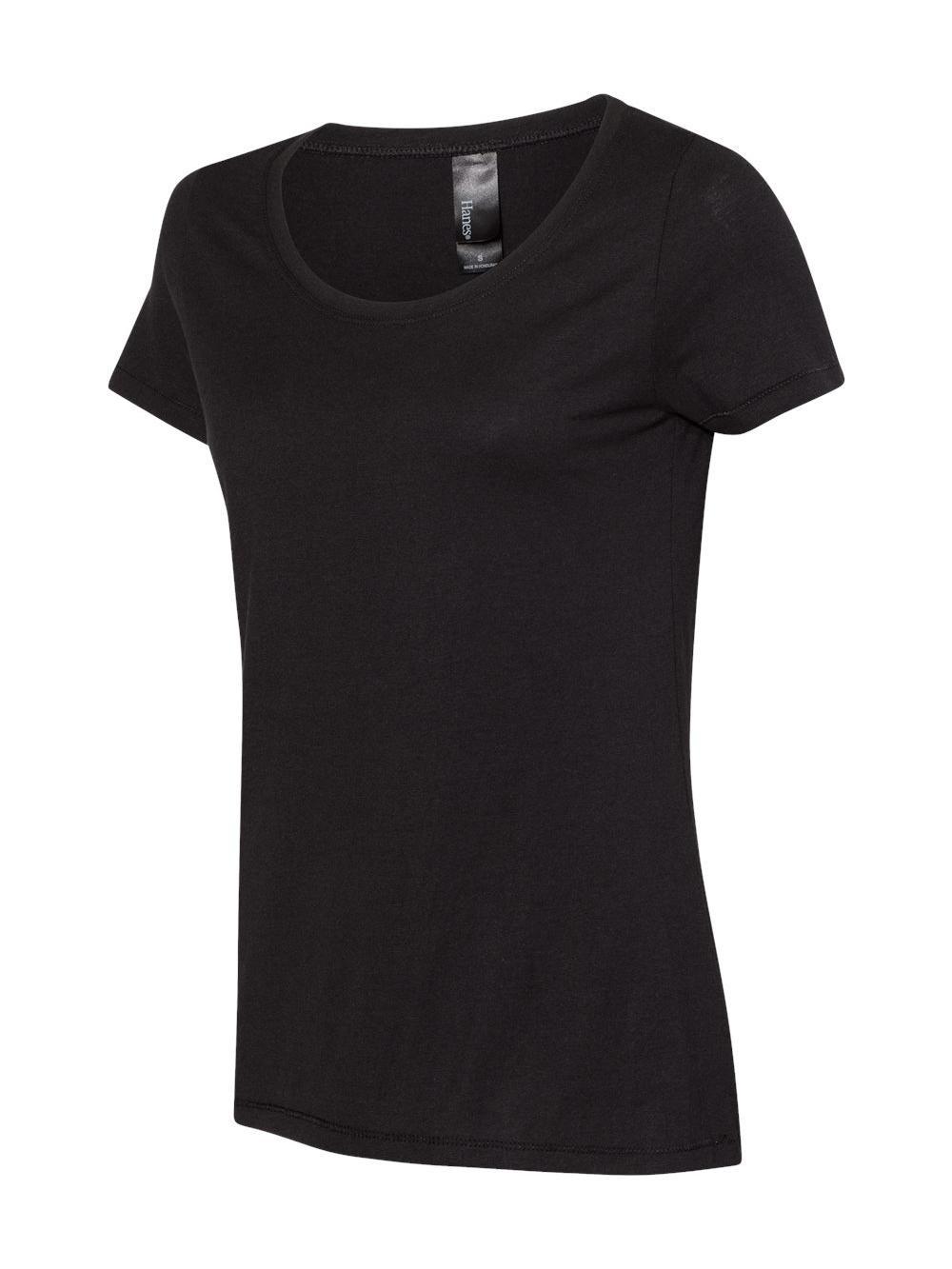 Hanes-Women-039-s-Modal-Triblend-T-Shirt-MO150 thumbnail 22