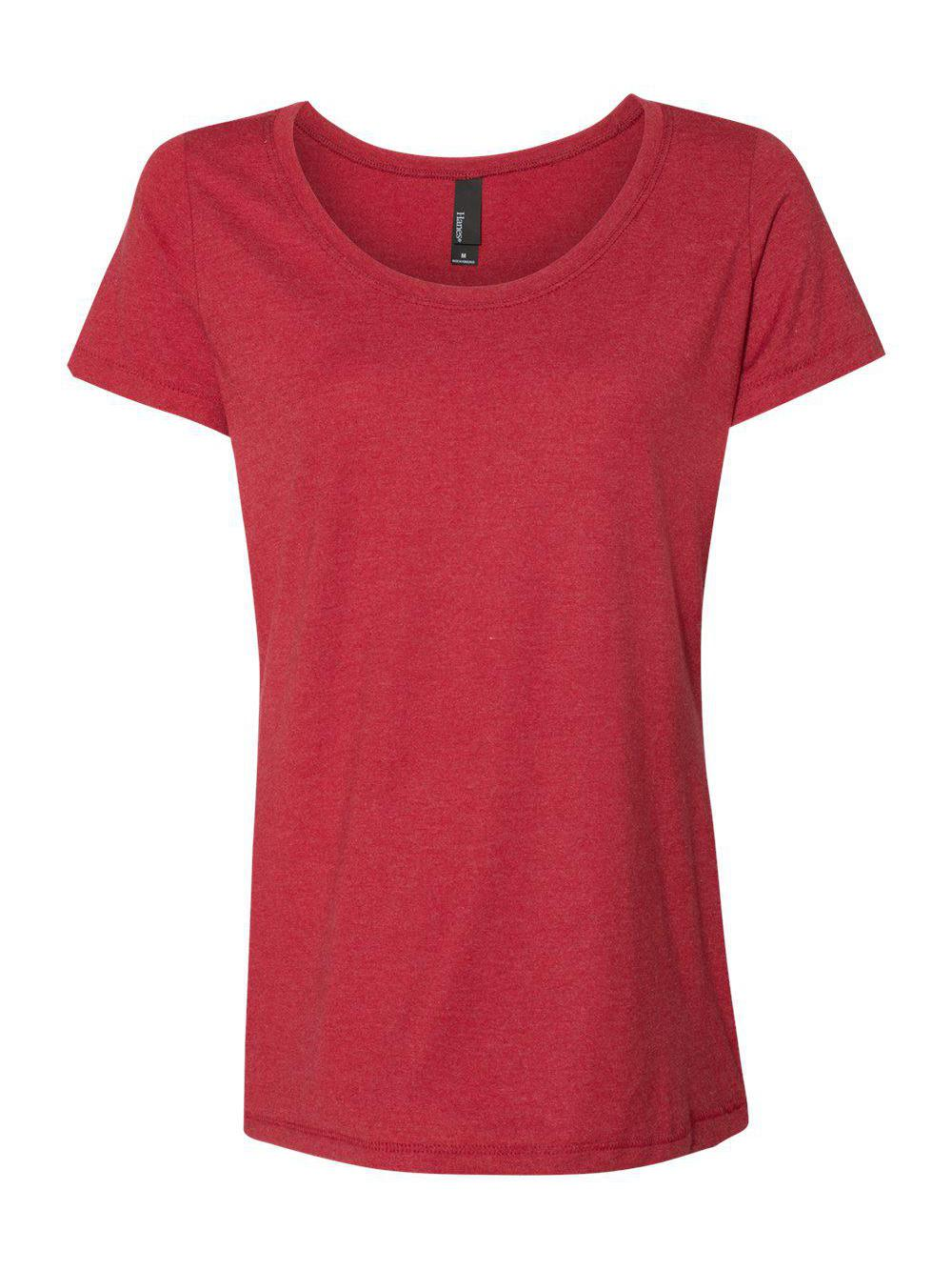 Hanes-Women-039-s-Modal-Triblend-T-Shirt-MO150 thumbnail 5