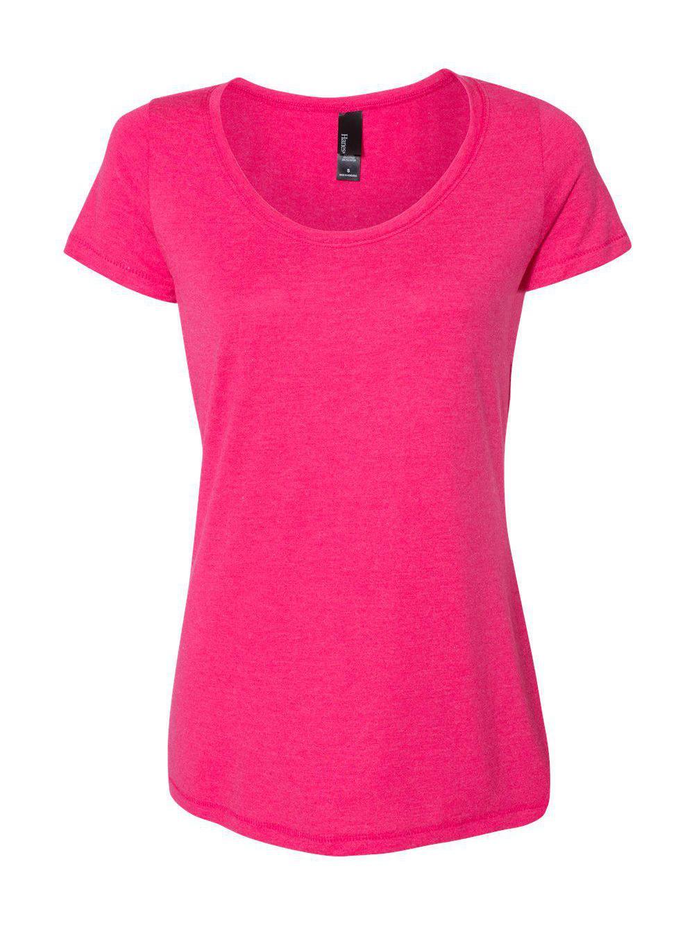 Hanes-Women-039-s-Modal-Triblend-T-Shirt-MO150 thumbnail 10