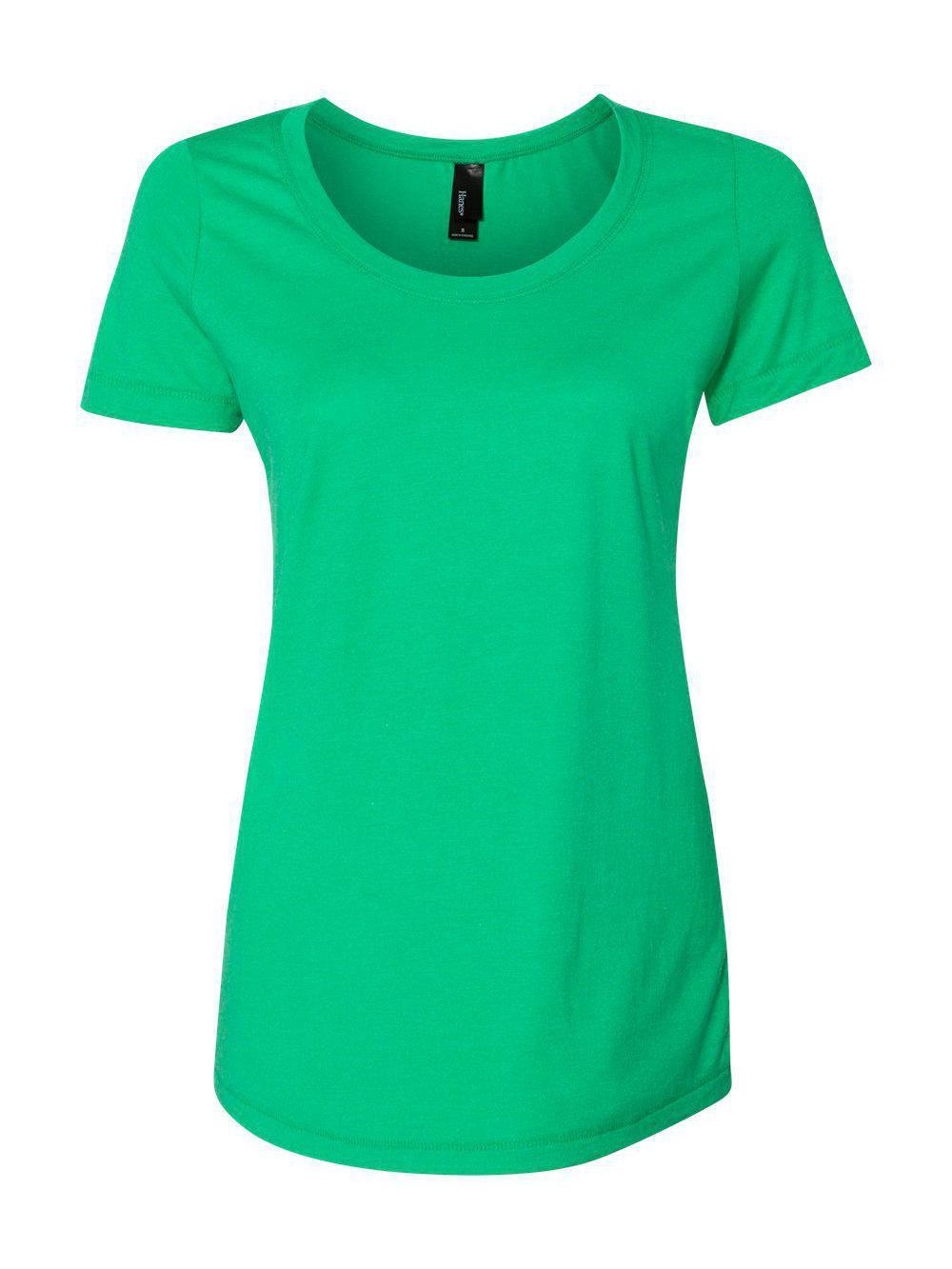 Hanes-Women-039-s-Modal-Triblend-T-Shirt-MO150 thumbnail 13